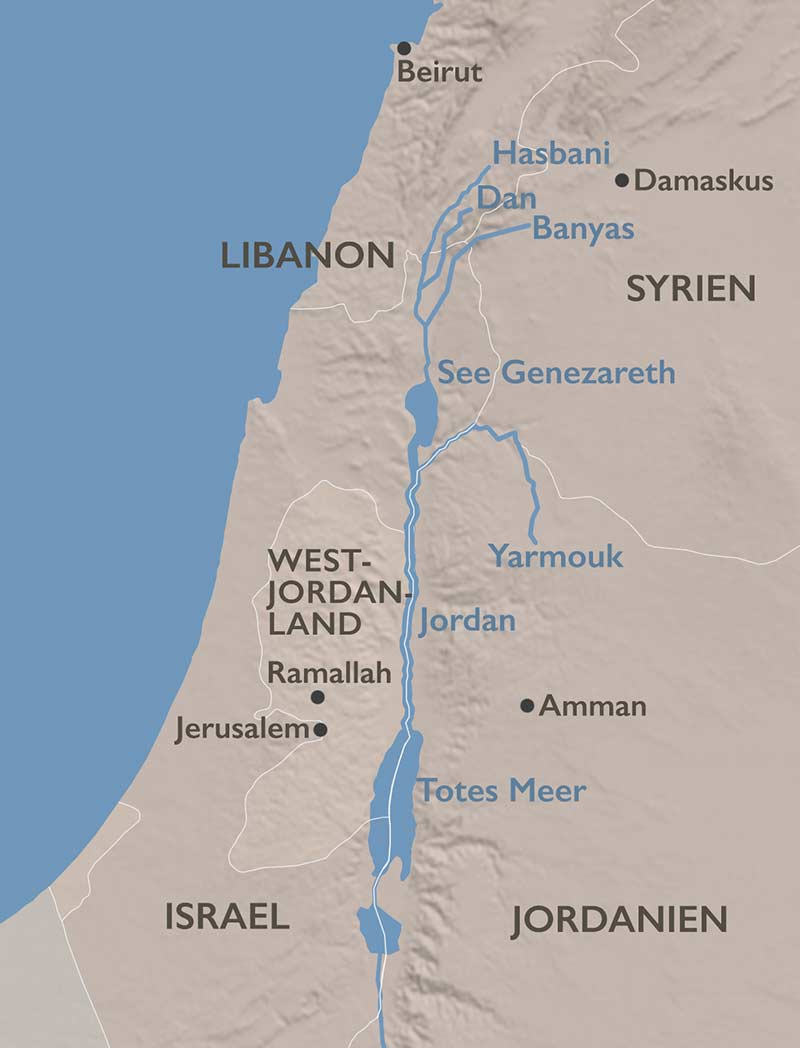 Jordan und Totes Meer: Wassernot in Nahost | Stefanie Zobl